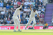 Wicket - Moeen Ali of England appeals for the wicket of Ishant Sharma of India who is given out during day two of the fourth SpecSavers International Test Match 2018 match between England and India at the Ageas Bowl, Southampton, United Kingdom on 31 August 2018.