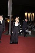 Miranda Richardson. National film theatre 50th Anniversary. 20 October 2002. © Copyright Photograph by Dafydd Jones 66 Stockwell Park Rd. London SW9 0DA Tel 020 7733 0108 www.dafjones.com