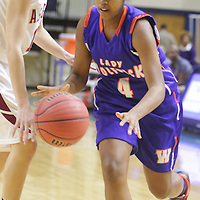 The Ashley High School Girls played Whiteville High School in the first round of the 2014 Leon Brogden Holiday Basketball Tournament Saturday December 27, 2014 on the campus of University of North Carolina Wilmington. (Jason A. Frizzelle)