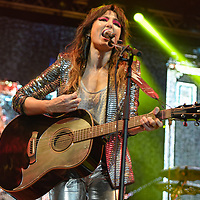 Linlitgow Scotland, UK.10th August 2019,  KT Tunstall gives a cracking performance at Party at The Palace 2019