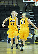 NCAA Women's Basketball - Northwestern v Iowa - December 30, 2011