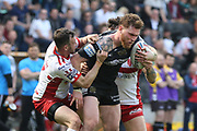 Hull FC prop forward Scott Taylor (8)  during the Betfred Super League match between Hull FC and Hull Kingston Rovers at Kingston Communications Stadium, Hull, United Kingdom on 19 April 2019.