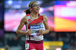 14/07/2017 : Sanaa Benhama (MAR), T13, 1500m (Women's) Final, at the 2017 World Para Athletics Championships, Olympic Stadium, London, United Kingdom