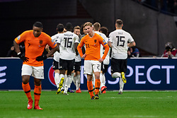 24-03-2019 NED: UEFA Euro 2020 qualification Netherlands - Germany, Amsterdam<br /> Netherlands lost the match 3-2 in the last minute / Nico Schultz #14 of Germany scores 3-2 in the last minute. Frenky de Jong #21 of The Netherlands