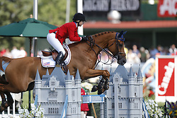 Coe Kirsten, USA, Baronez, Baroness van d'Abelendreef<br /> CN International Grand Prix<br /> CSIO Spruce Meadows - Calgary 2013<br /> © Dirk Caremans