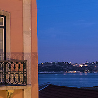 Our view in Lisbon at sunset. This alone deserves a great wine!