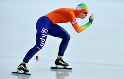 08-01-2012 SCHAATSEN: EC ALLROUND: BUDAPEST<br /> 3000 meter women / Ireen Wust wordt derde op het EK achter Pechstein en Sablikova<br /> ©2012-FotoHoogendoorn.nl