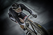 Simon van Velthooven competes in the (ME) sprint in the Avanti BikeNZ Classic, Avantidrome, Cambridge, New Zealand, Thursday, September 18, 2014, Credit: Dianne Manson/BikeNZ