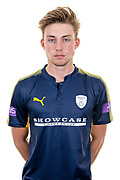 Asher Hart of Hampshire during the Hampshire CCC photo call 2017 at  at the Ageas Bowl, Southampton, United Kingdom on 12 April 2017. Photo by David Vokes.