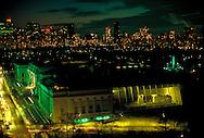 New York City, NY, Metropolitan Museum of Art at Night