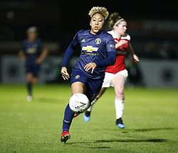 February 7, 2019 - London, England, United Kingdom - Lauren James of Manchester United Women .during FA Continental Tyres Cup Semi-Final match between Arsenal and Manchester United Women FC at Boredom Wood on 7 February 2019 in Borehamwood, England, UK. (Credit Image: © Action Foto Sport/NurPhoto via ZUMA Press)
