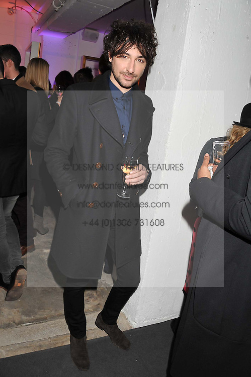 ALEX ZANE at the launch of Maison Triumph, 71 Monmouth Street, Covent Garden, London on 14th February 2013.