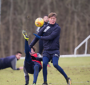 Dundee&rsquo;s Scott Allan and Mark O&rsquo;Hara during Dundee FC training at the Michelin Grounds, Dundee<br /> <br /> <br />  - &copy; David Young - www.davidyoungphoto.co.uk - email: davidyoungphoto@gmail.com