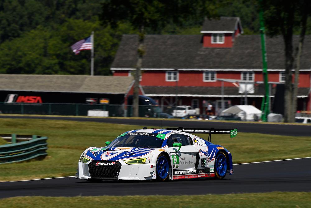 26-28 August, 2016, Alton, Virginia USA<br /> 9, Audi, R8 LMS GT3, GTD, Lawson Aschenbach, Matt Bell<br /> &copy;2016, Scott R LePage <br /> LAT Photo USA