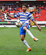Jobi McAnuff of Reading in action N during the Sky Bet Championship match at The Valley, London<br /> Picture by Andrew Tobin/Focus Images Ltd +44 7710 761829<br /> 05/04/2014