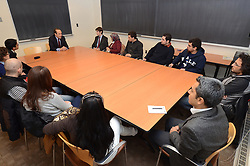 Turkish Ambassador to the United States, His Excellency Namik Tan visit Yale University. Roundtable Meeting with Yale Undergraduate and Graduate Programs Turkish Students | 6 December 2012