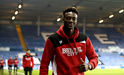 Tammy Abraham of Bristol City arrives at Elland Road for the Sky Bet Championship fixture with Leeds United - Mandatory by-line: Robbie Stephenson/JMP - 14/02/2017 - FOOTBALL - Elland Road - Leeds, England - Leeds United v Bristol City - Sky Bet Championship