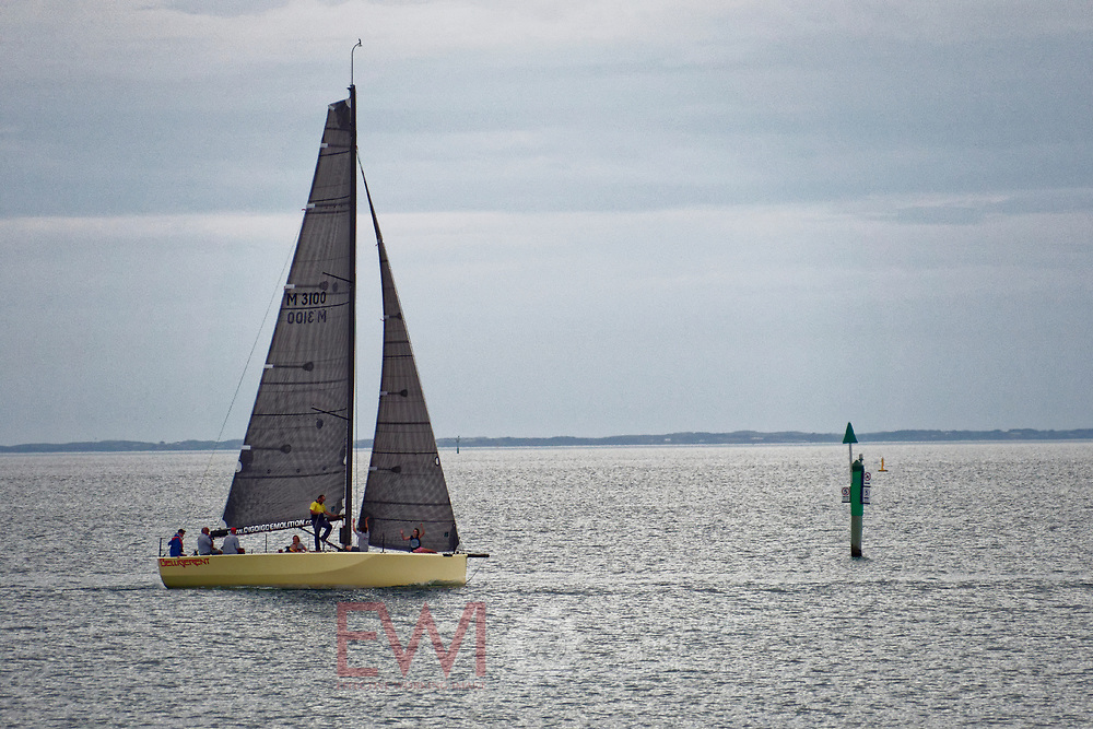 Sail Peninsula Regatta 2018 Thursday night race 22rd February 2018<br />
