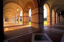 Stock photo of intersecting walkways at Rice University in Houston Texas