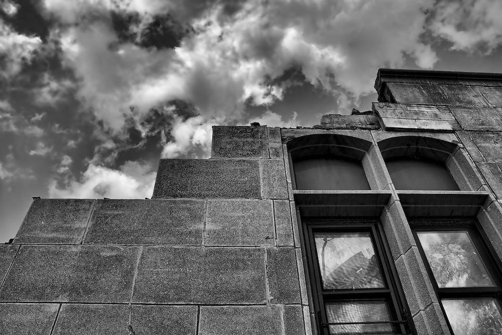 Taken hours before the final demolition of an older wing of St. Joseph's School for the Blind in Jersey City.<br /> [http://issuu.com/hudsonreporter/docs/v8n1_jcm_web/53]