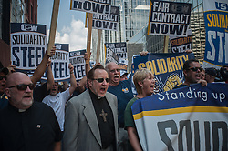 United States Steel Workers AK Steel Protest<br /> Pittsburgh, PA<br /> 9/1/2015