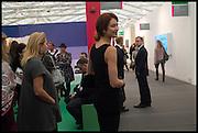 OLGA KURYLENKO, Opening of Frieze art Fair. London. 14 October 2014