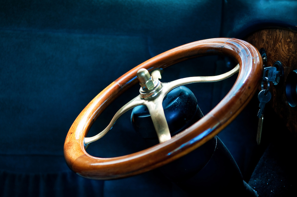 Old Ford Steering Wheel