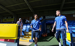 Bristol Rovers team arriving at the stadium - Mandatory by-line: Arron Gent/JMP - 21/09/2019 - FOOTBALL - Cherry Red Records Stadium - Kingston upon Thames, England - AFC Wimbledon v Bristol Rovers - Sky Bet League One
