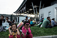 Slovenia: Migrants stuck at the border between Slovenia and Croatia. Alessio Romenzi
