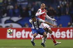 February 5, 2018 - Na - Porto, 02/03/2018 - Futebol Clube do Porto received the Sporting Clube de Braga tonight at Estádio do Dragão, in a game to count towards the 21st day of the I Liga 2017/18. Crown; Raúl Silva  (Credit Image: © Atlantico Press via ZUMA Wire)