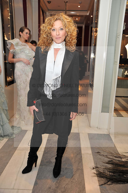 KELLY HOPPEN at a party to launch the Georgina Chapman collection for Garrard held at Garrard, Albermarle Street, London on 4th November 2009.