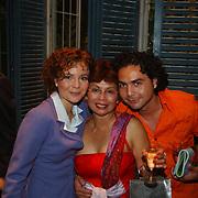 Premiere Sound of Music, Maaike Widdershoven en haar moeder en broer