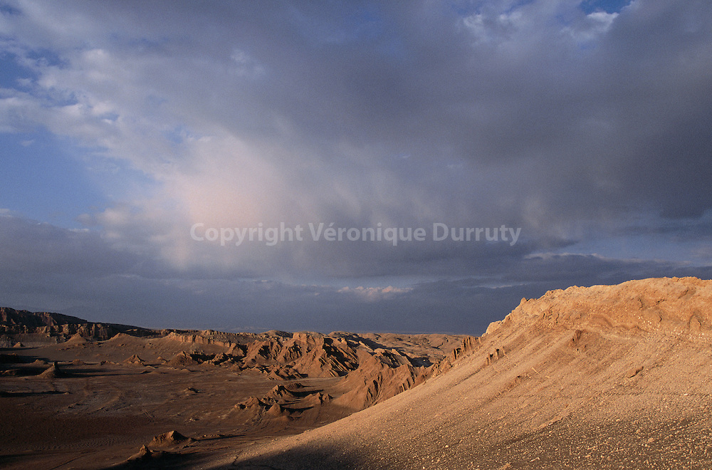 VALLEE DE LA LUNE, DESERT DE L'ATACAMA, CHILI