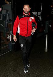 Aaron Wilbraham of Bristol City arrives at Highbury Stadium - Mandatory by-line: Matt McNulty/JMP - 17/01/2017 - FOOTBALL - Highbury Stadium - Fleetwood,  - Fleetwood Town v Bristol City - Emirates FA Cup Third Round Replay