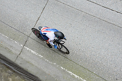 Hannah Barnes at UCI Road World Championships Elite Women's Individual Time Trial 2017 a 21.1 km time trial in Bergen, Norway on September 19, 2017. (Photo by Sean Robinson/Velofocus)