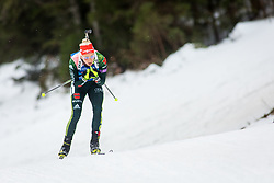 Karolin Horchler (GER) during Women 15km Individual at day 5 of IBU Biathlon World Cup 2018/19 Pokljuka, on December 6, 2018 in Rudno polje, Pokljuka, Pokljuka, Slovenia. Photo by Ziga Zupan / Sportida