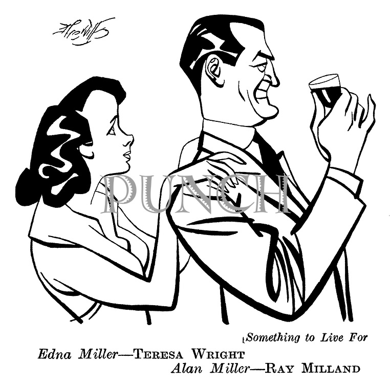 Something to Live For : Ray Milland and Teresa Wright