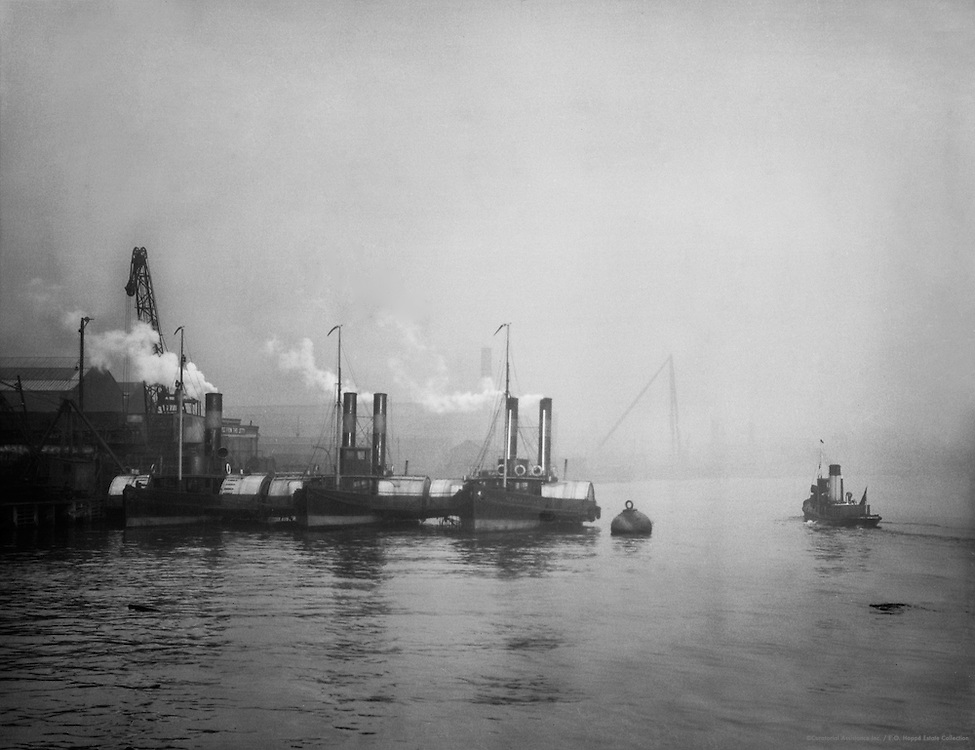 Tugboats, Swan Hunter & Wigham Richardson shipyard, England, 1928