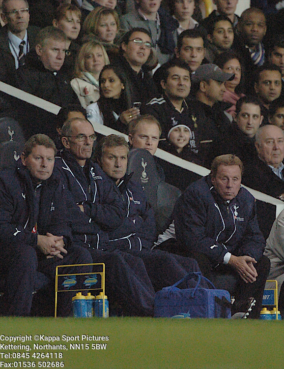 HARRY REDKNAPP MANAGER TOTTENHAM HOTSPUR, Spurs, Tottenham Hotspur - Liverpool, Carling Cup White Hart Lane Wednesday 12th November 2008, 12/11/08