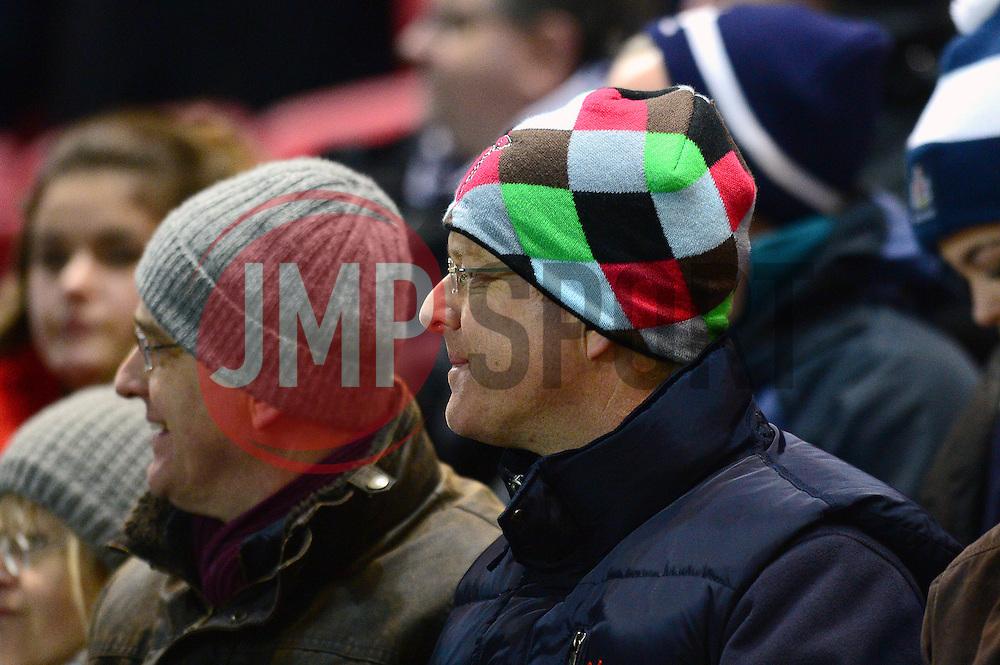 Harlequins fans - Mandatory by-line: Dougie Allward/JMP - 10/02/2017 - RUGBY - Ashton Gate - Bristol, England - Bristol Rugby v Harlequins - Aviva Premiership