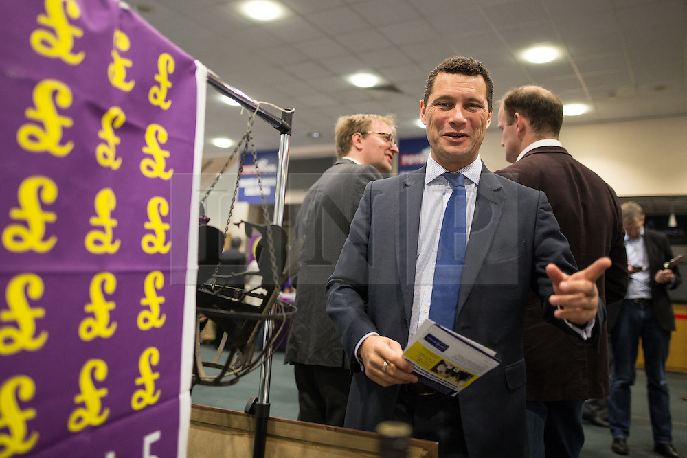 © Licensed to London News Pictures . FILE PICTURE DATED 25/09/2015 of STEVEN WOOLFE at the 2015 UKIP Party Conference at Doncaster Racecourse , UK as today , 14th July 2016 , Woolfe has declared his intention to stand as the next leader of UKIP , following the resignation of Nigel Farage . Photo credit : Joel Goodman/LNP