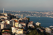 Turkey. Elevated view on Istambul and Golden horn
