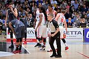 Alessandro Martolini arbitro<br /> Dolomiti Energia Aquila Basket Trento - Consultinvest Victoria Libertas Pesaro<br /> Lega Basket Serie A 2016/2017<br /> Trento, 26/03/2017<br /> Foto M. Ceretti / Ciamillo - Castoria