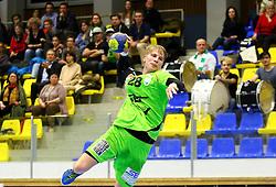 13.02.2016, BSFZ Südstadt, Maria Enzersdorf, AUT, HLA, SG INSIGNIS Handball WESTWIEN vs HSG Raiffeisen Bärnbach/Köflach, Unteres Play Off, 2. Runde, im Bild Wilhelm Jelinek (WestWien)// during Handball League Austria, 2 nd round match between SG INSIGNIS Handball WESTWIEN and HSG Raiffeisen Bärnbach/Köflach at the BSFZ Südstadt, Maria Enzersdorf, Austria on 2016/02/13, EXPA Pictures © 2016, PhotoCredit: EXPA/ Sebastian Pucher