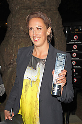 LONDON - June 04: Miranda Hart leaving the Glamour Awards 2013 (Photo by Brett D. Cove) /LNP © Licensed to London News Pictures.
