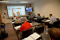 College of Engineering students in class at the Havelock campus.