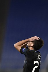 November 8, 2018 - Rome, Rome, Italy - Maxime Lopez of Olimpique de Marseille looks dejected during the UEFA Europa League Group Stage match between Lazio and Olympique de Marseille at Stadio Olimpico, Rome, Italy on 8 November 2018. (Credit Image: © Giuseppe Maffia/NurPhoto via ZUMA Press)