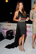 Uitreiking Grazia Red Carpet Awards in the Grand, Amsterdam.<br /> <br /> Op de foto:  Georgina Verbaan met haar Red Carpet Style Goddess Award
