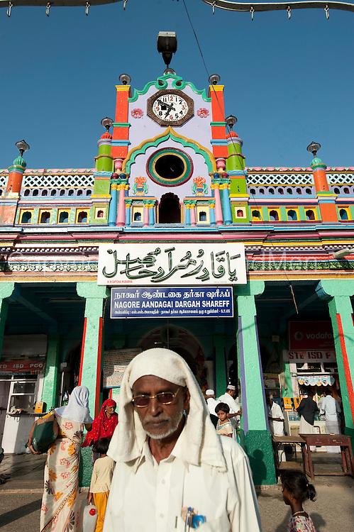 The Nagore Aandagai Dargah Shareef. Nagore. South India.