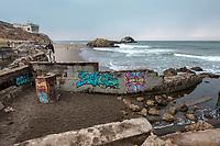 Sutro Baths. San Francisco, CA. Copyright 2017 Reid McNally.